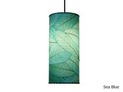 Pendant Light | Cocoa Leaf | Cylinder