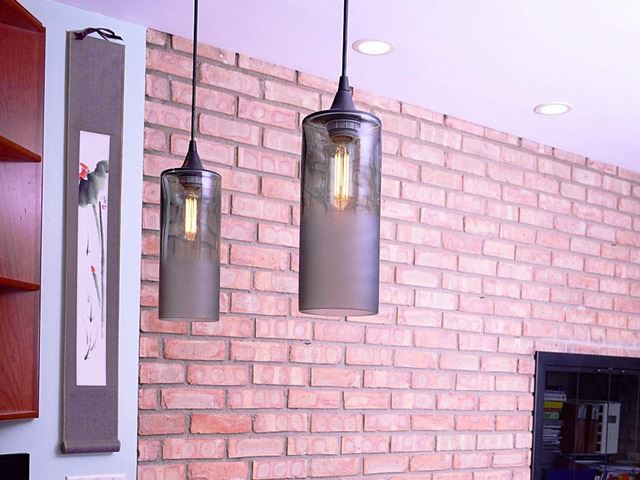 Picture of Pendant Light | Atmospheric Series | Cylinder
