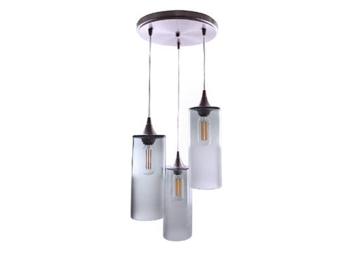 Atmospheric Series Cylinder Pendant Chandelier 3 pc