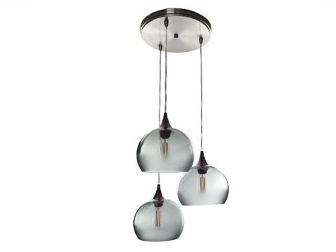 Atmospheric Series Globe Pendant Chandelier 3 pc