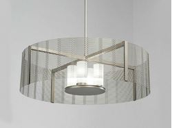 Picture of Drum Chandelier | Downtown Mesh V