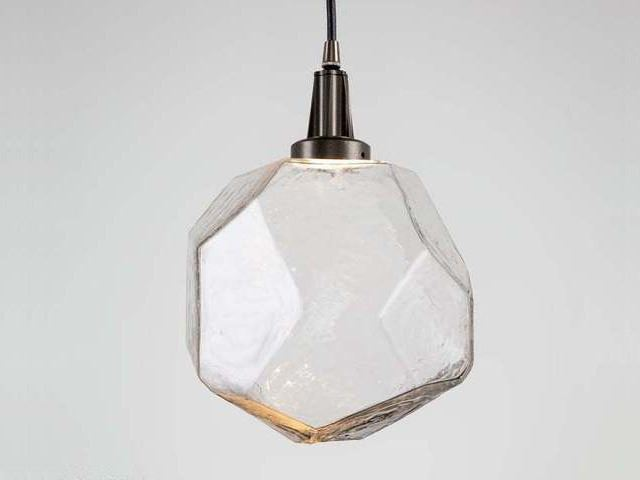 Picture of Blown Glass Pendant Light   Gem