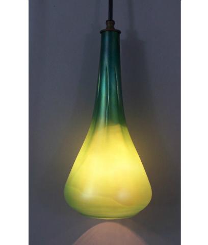 Pendant Light    Optic Hanging Phoenix Morph   Emerald