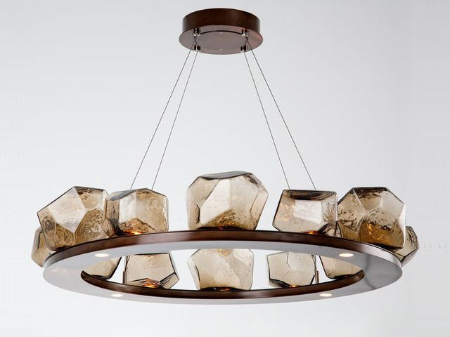 Picture of Ring Chandelier   Gem 12