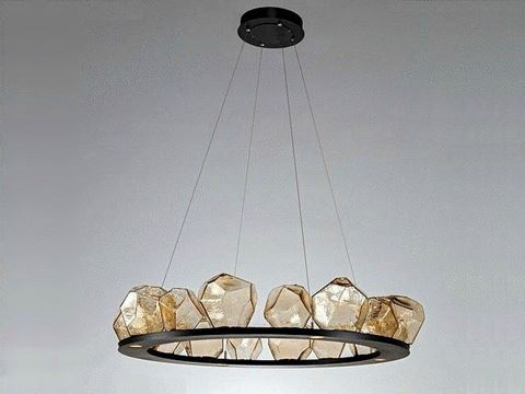 Ring Chandelier | Gem 16