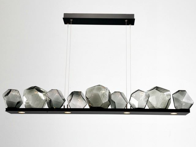 Picture of Linear Chandelier | Gem 9