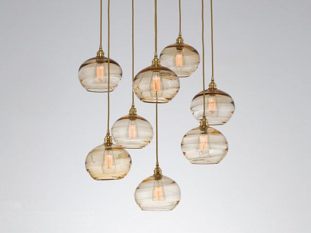 Picture of Pendant Chandelier | Coppa 8