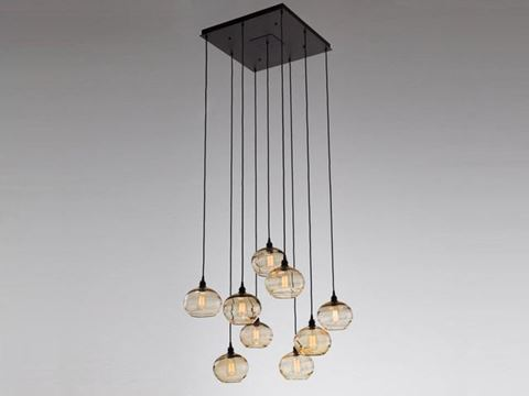 Pendant Chandelier | Coppa 9