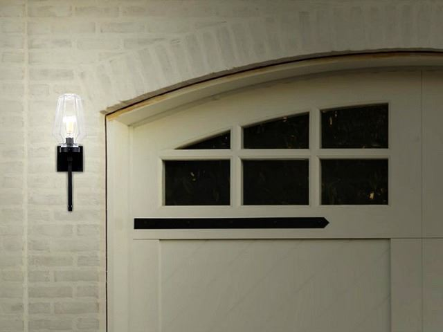 Picture of Outdoor Villa Torch Sconce