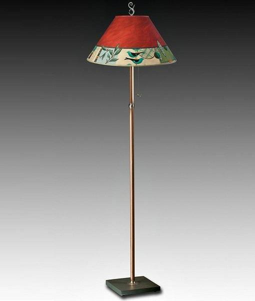 Living Room Floor Lamp | New Capri in Red