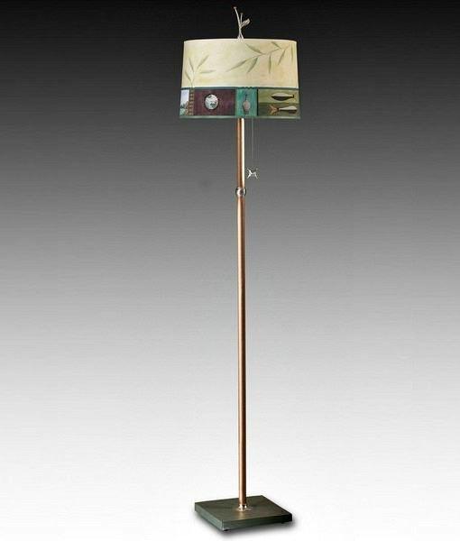 Living Room Floor Lamp | Twin Fish