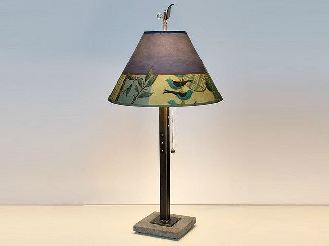 Picture of Janna Ugone Table Lamp | New Capri in Periwinkle 2