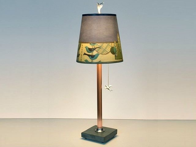 Picture of Janna Ugone Table Lamp   New Capri in Periwinkle 1