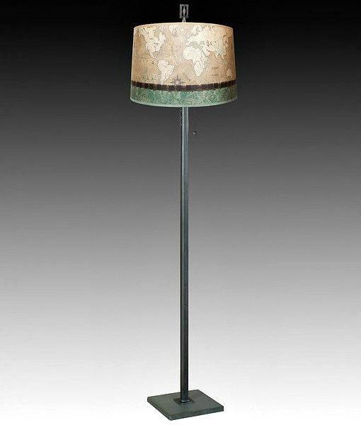 Living Room Floor Lamp | Sand Map 1
