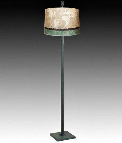 Janna Ugone Floor Lamp | Sand Map 1