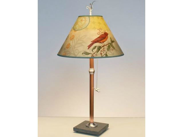 Picture of Janna Ugone Table Lamp   Birdscape