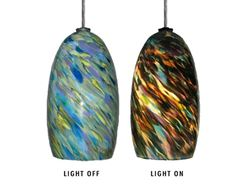 Picture of Blown Glass Pendant Light | Spring
