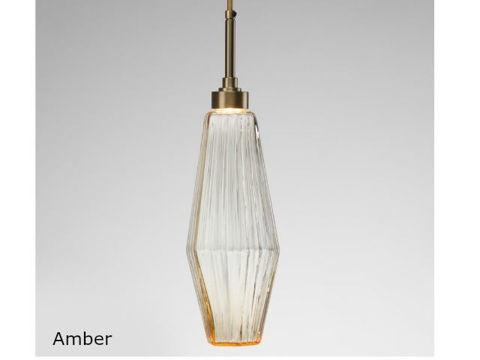 Blown Glass Pendant Light   Aalto 17