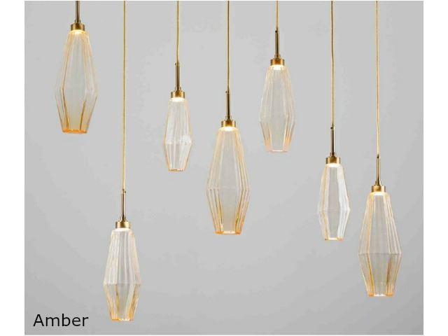 Picture of Linear Chandelier | Aalto | 7 pc