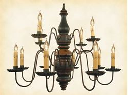 Charleston Wood Chandelier