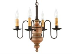 Picture of Chesapeake Mini Wood Chandelier