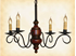 Picture of Queen Anne Mini Wood Chandelier