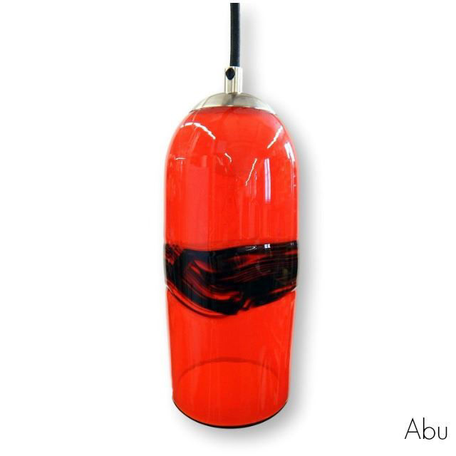 Picture of Blown Glass Pendant Light | Abu Oblong