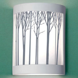 A19 Ceramic Wall Sconce | Ansel