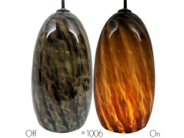 Picture of Blown Glass Pendant Light | Dragons Eye