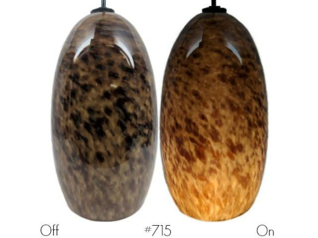 Picture of Blown Glass Pendant Light   Lesley