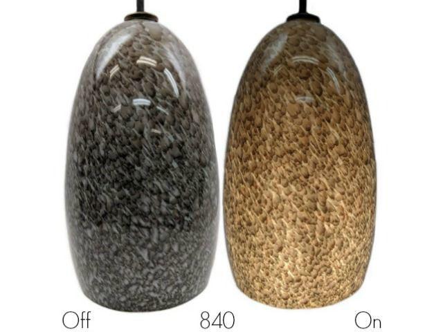 Picture of Blown Glass Pendant Light | Granite