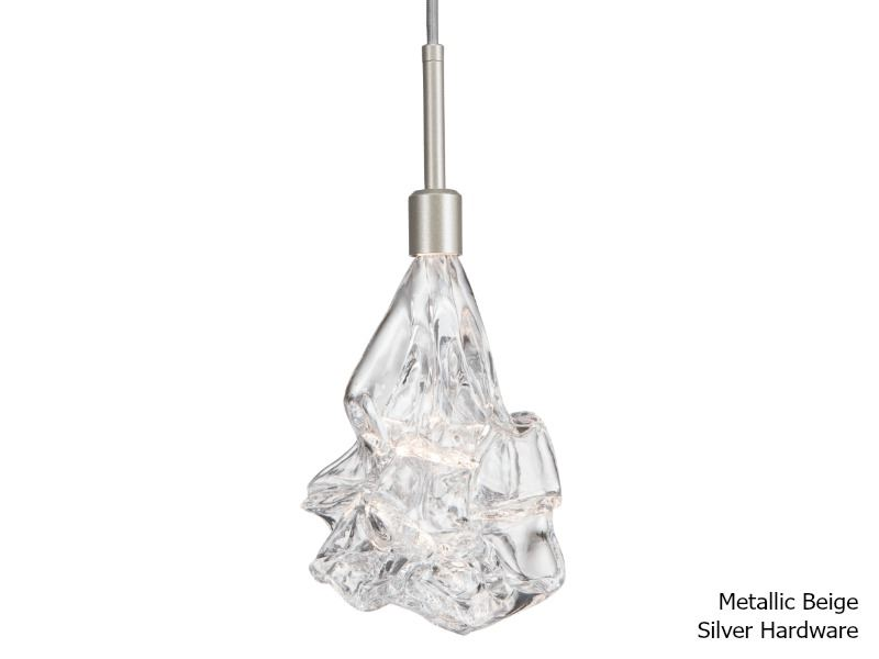 Picture of Blown Glass Pendant Light   Blossom