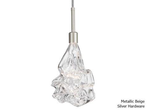 Blown Glass Pendant Light   Blossom
