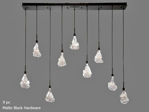 Linear Chandelier | Blossom 9