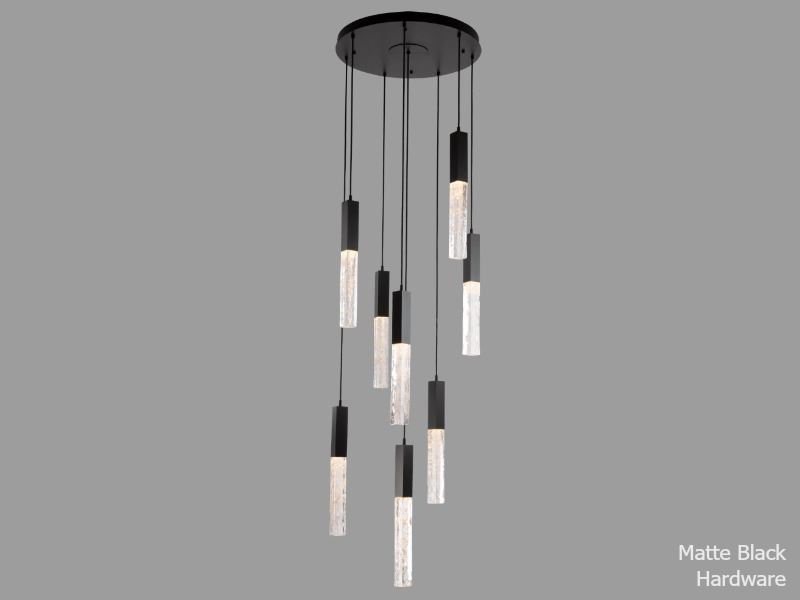 Picture of Axis Round Multi-Port Chandelier 8 pc