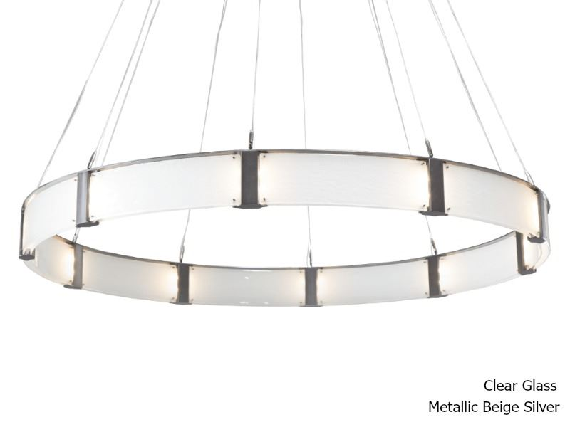 """Picture of Parallel Collection Ring Chandelier 72"""""""