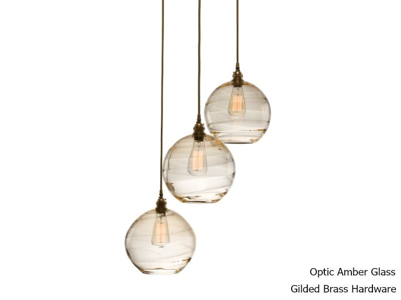 Picture of Terra Round Multi-Port Pendant Chandelier 3 pc