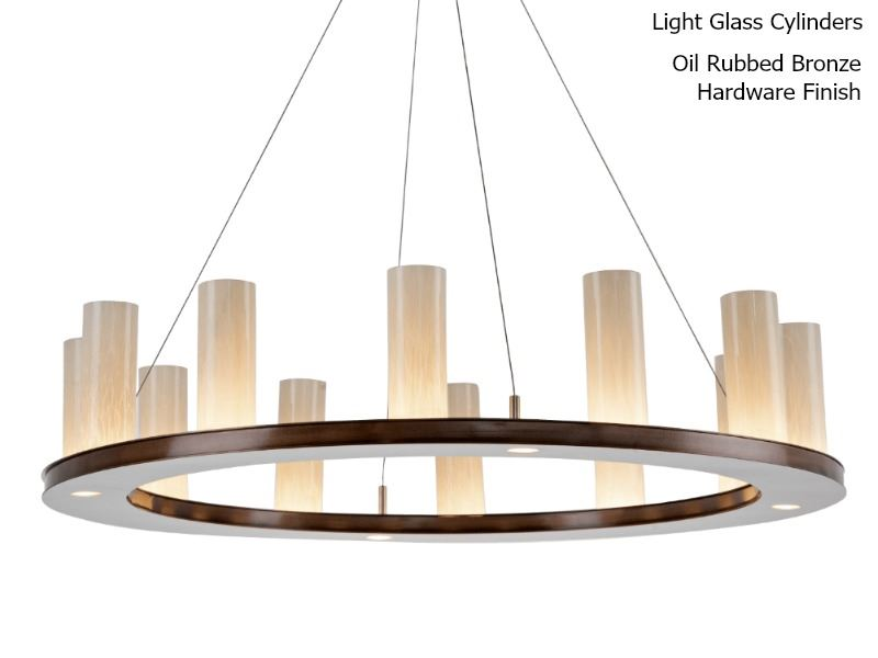 Picture of Ring Chandelier | Carlyle Corona II