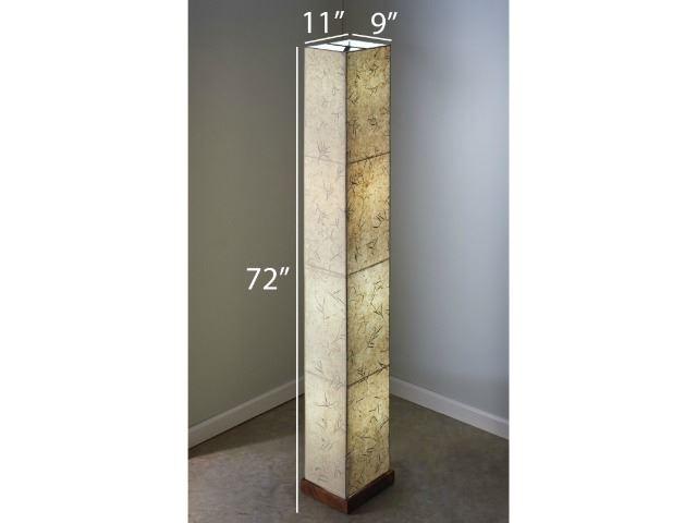 Picture of Unique Floor Lamp   Paper Tower