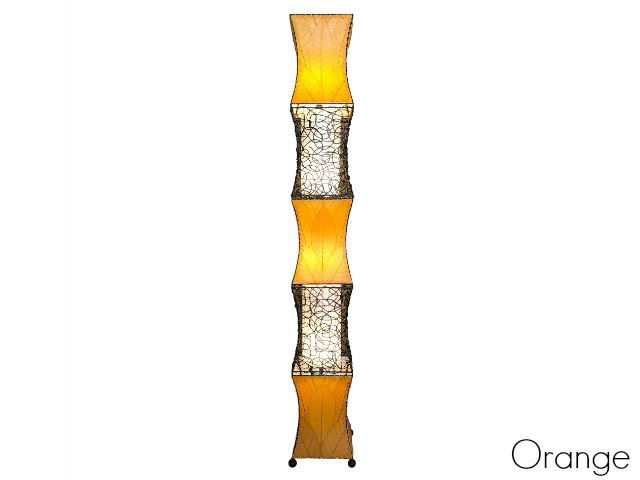 Unique Floor Lamp | Pagoda Cocoa - X-Large