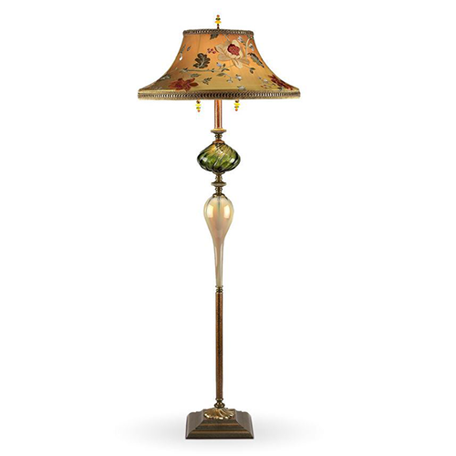 Picture of Kinzig Floor Lamp   Freddy in Green