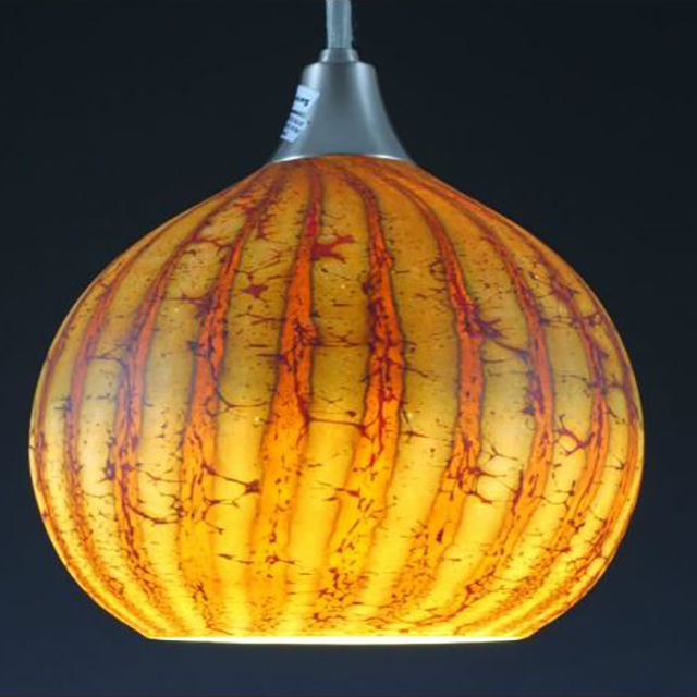Picture of Blown Glass Pendant Light | Batik I