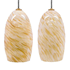 Picture of Blown Glass Pendant Light | Natural