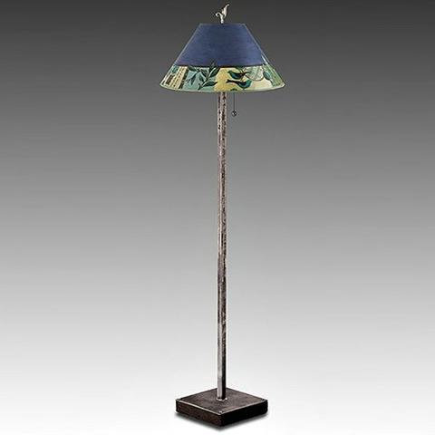 Janna Ugone Floor Lamp   New Capri in Periwinkle