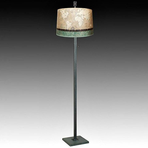 Picture of Janna Ugone Floor Lamp | Sand Map 1