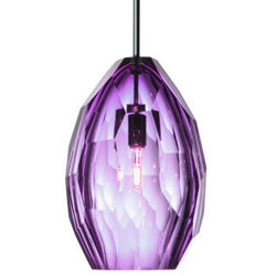 Picture of Pendant Light   Faceted   Purple