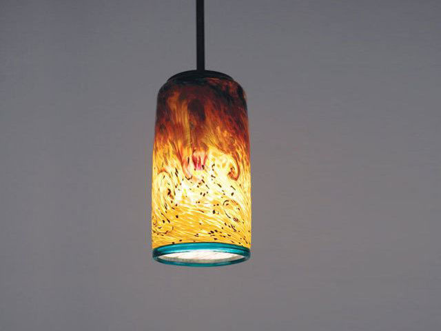 Picture of Blown Glass Pendant Light   Whitney - SALE