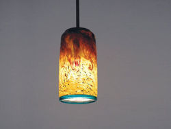 Picture of Blown Glass Pendant Light | Whitney - SALE